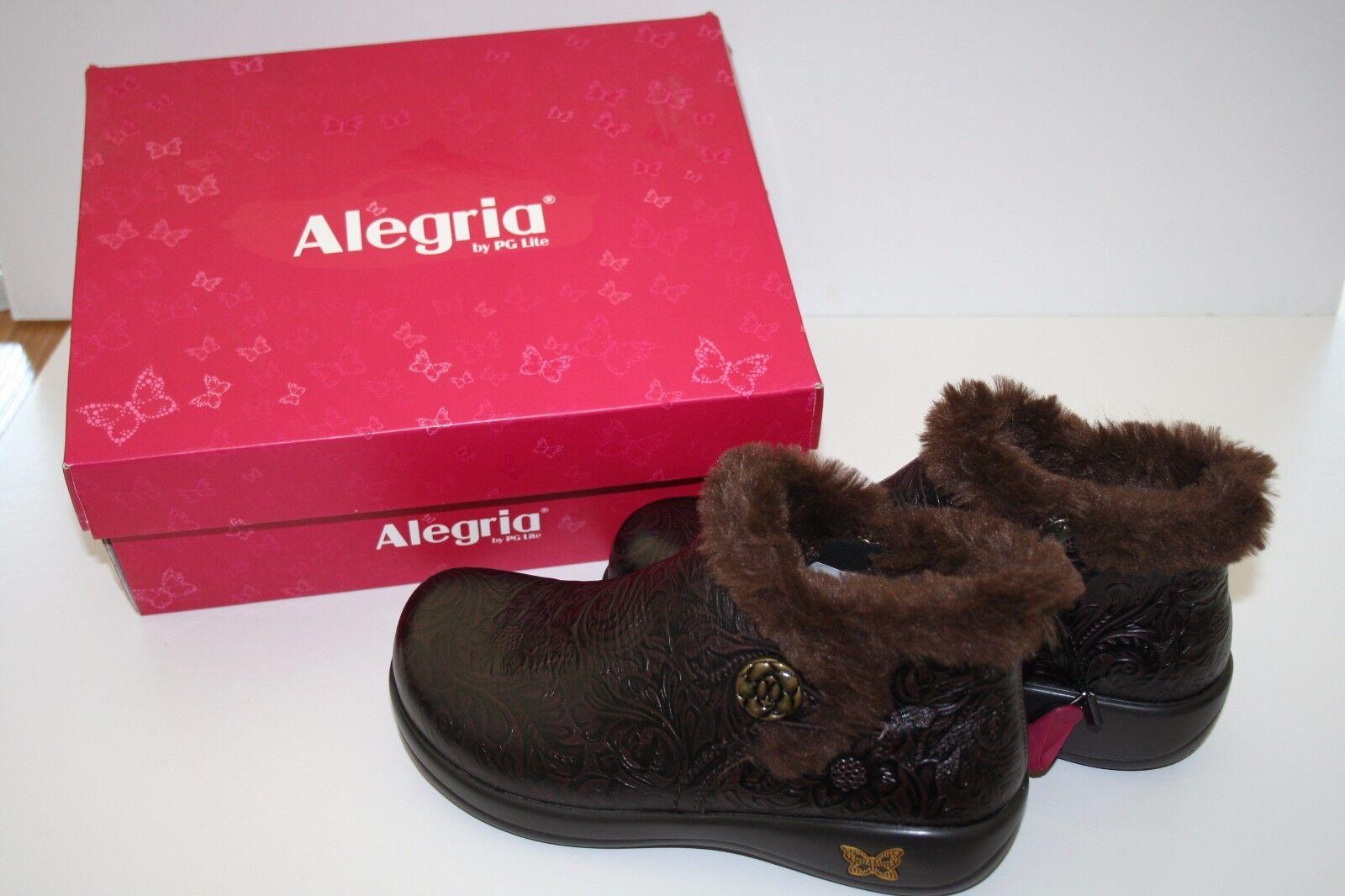 Alegria Damenschuhe Meri Synthetic Fur Rain Boot Molasses Tooled 36W Größe 36W Tooled  US 51/2-6 4b36fd