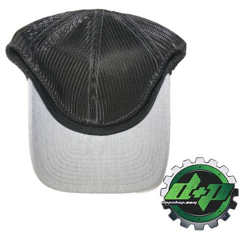 Ford Powerstroke trucker hat richardson Gray Denim Black mesh flex fit lg//xl