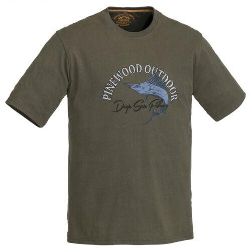 Pinewood 5420 poisson T-Shirt-Angel Shirt Angel Outdoor Shirt-Taille M-XXL