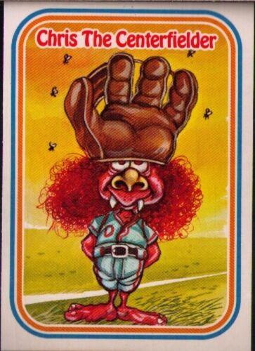 1988 Donruss Awesome All-Stars #46 Chris The Centerfielder