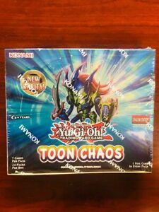 Toon Chaos Booster Pack Sealed 1st Edition Yu-Gi-Oh!