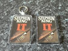 It Keyring and Magnet Set. Stephen King Book Art, Pennywise