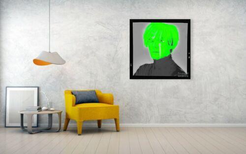 Motiv Warhol Neon Film XXL Arcylglas 5 mm 100x100 cm PopArt//Bild//Druck//StreetArt