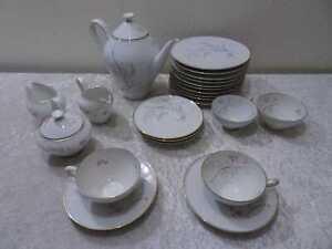 23-Pieces-Service-a-Cafe-Heinrich-Porcelaine-Midcentury-Design-Vintage-A