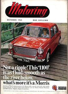 Motoring 10/65 Nuffield Mag Wolseley 1100 Mini Traveller Build a Car Port +
