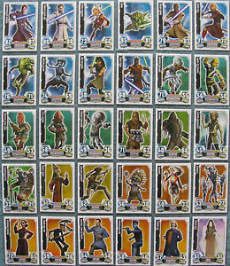 Star Wars Force Attax Series 1 Trading Cards Pick From List 1 To 27