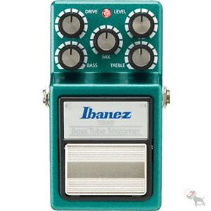 Ibanez-TS9B-Bass-Tube-Screamer-Overdrive-Vintage-Fuzz-Guitar-Effect-FX-Pedal