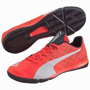 2e652adef Puma Evospeed Sala 3.4 Indoor Soccer Shoe Total Eclipse   Lava Blast ...