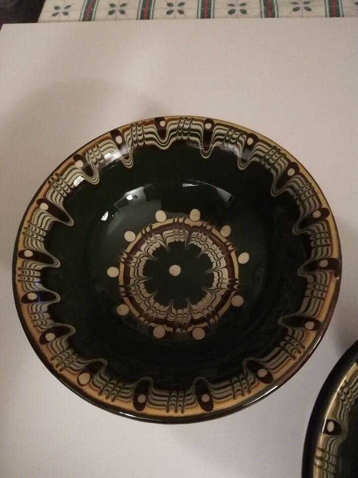 Keramik, tapas skåle, Håndlavet