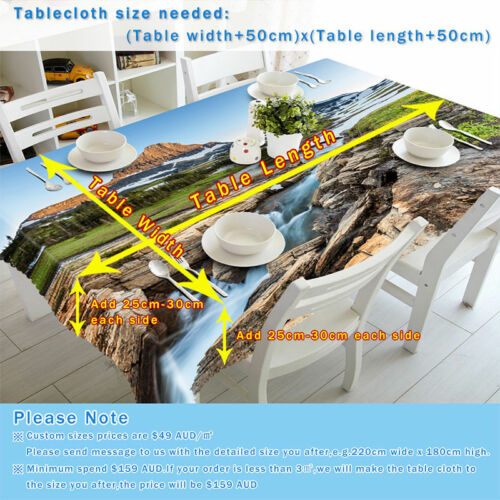 3D Party Baum H475 Christmas Tischdecke Tischdecke Tuch Geburtstagsfeier Amy