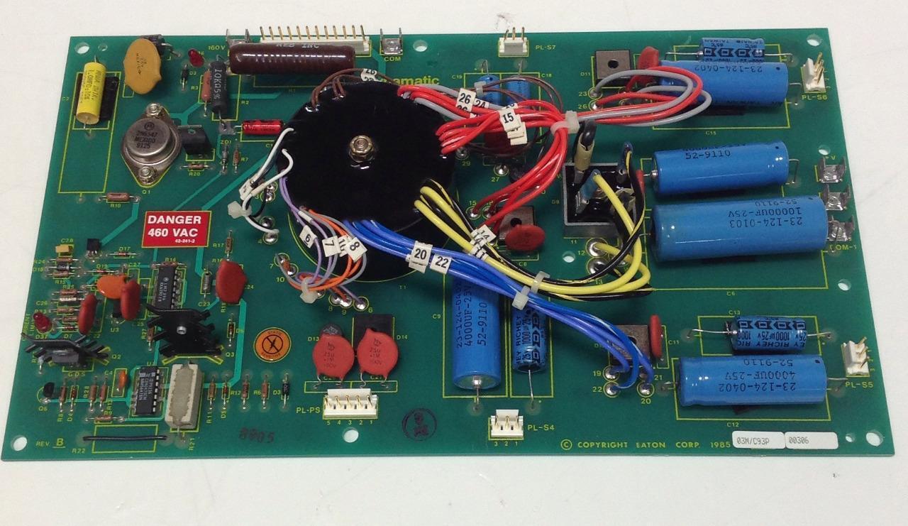 EATON DYNAMATIC POWER SUPPLY P.C.B. CIRCUIT BOARD REV.B 15-590-2 PB