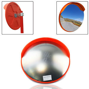 30-45-60cm-Wide-Angle-Security-Curved-Convex-Road-Mirror-Traffic-Safety-UK