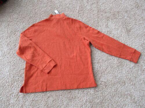 738085540578 Polo Bnwt Neck Lauren uomo L 4 1 Mock arancione Pullover Zip 50 89 Ralph taglia Z4Urxwdq04