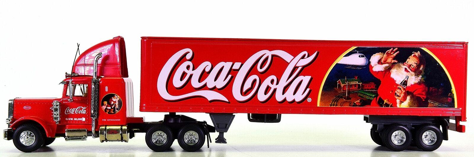 Matchbox KS199 A-M 1 58 - TIS The Season Coca Cola Peterbilt 18 Wheeler