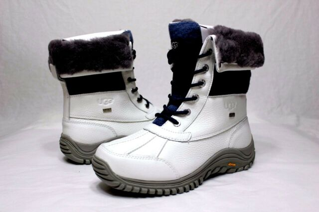 9921878c5b0 Women's Shoes UGG Adirondack II Waterproof Lace up BOOTS 1013505 White 6