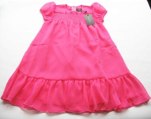 Chiffon Kleid Gr.122 Loki by Cadeau NEU pink gesmogt festlich Tunika kinder