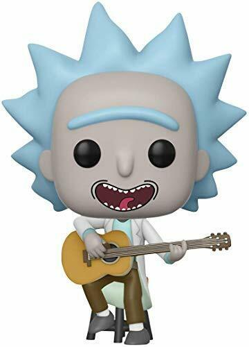 Multi Funko 34215 POP VINILE Rick Morty Tiny Rick wguitar EXC