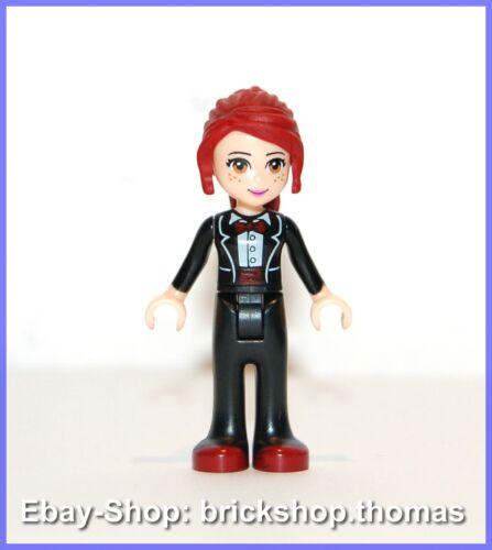 Lego Figur Friends Mia mit schwarzer Hose frnd041 Minifig NEW // NEU