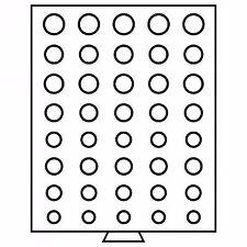 VASSOIO MB BOX PER 5 SERIE DIVISIONALI EURO IN CAPSULA - 40 CASELLE - LEUCHTTURM