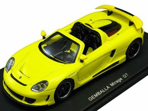 Spark S0720 Gemballa Mirage GT ( yellow ) - OVP - 1 43