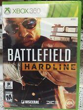 Brand New!!! Battlefield Hardline (Xbox 360, 2015) Factory Sealed!!!