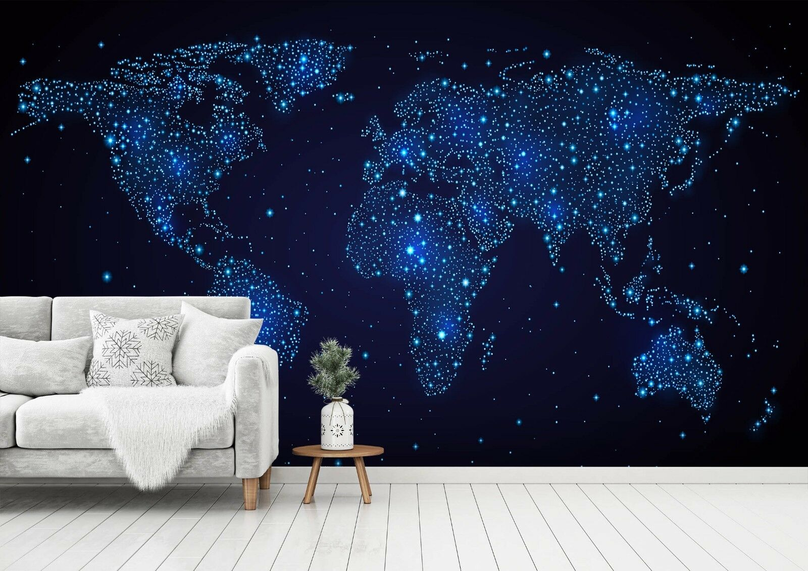 3D Star Map 7599 Wall Paper Exclusive MXY Wallpaper Mural Decal Indoor Wall AJ