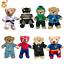 8-10-inch-25cm-TEDDY-CLOTHES-TUXEDO-SUPERBEAR-KARATE-PJ-SUPERBEAR-DINO-HOODIE thumbnail 1