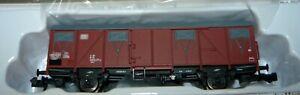 Brawa-67801-gedeckter-Gueterwagen-Gos-245-der-DB-AG-Epoche-V-N-NEU-amp-OVP