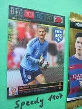 Panini Adrenalyn FIFA 365 Top Master Manuel Neuer Topmaster München Bayern