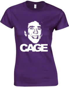 Cage-Nicolas-Cage-inspired-Ladies-Printed-T-Shirt-Short-Sleeve-Women-Tee-Top