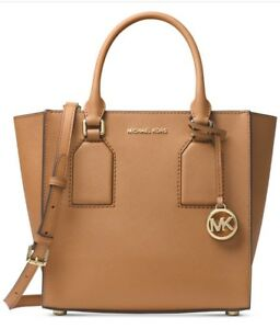 6ab076a256fe New MICHAEL KORS SELBY Acorn PEBBLED LEATHER MEDIUM Satchel BOX  358 ...