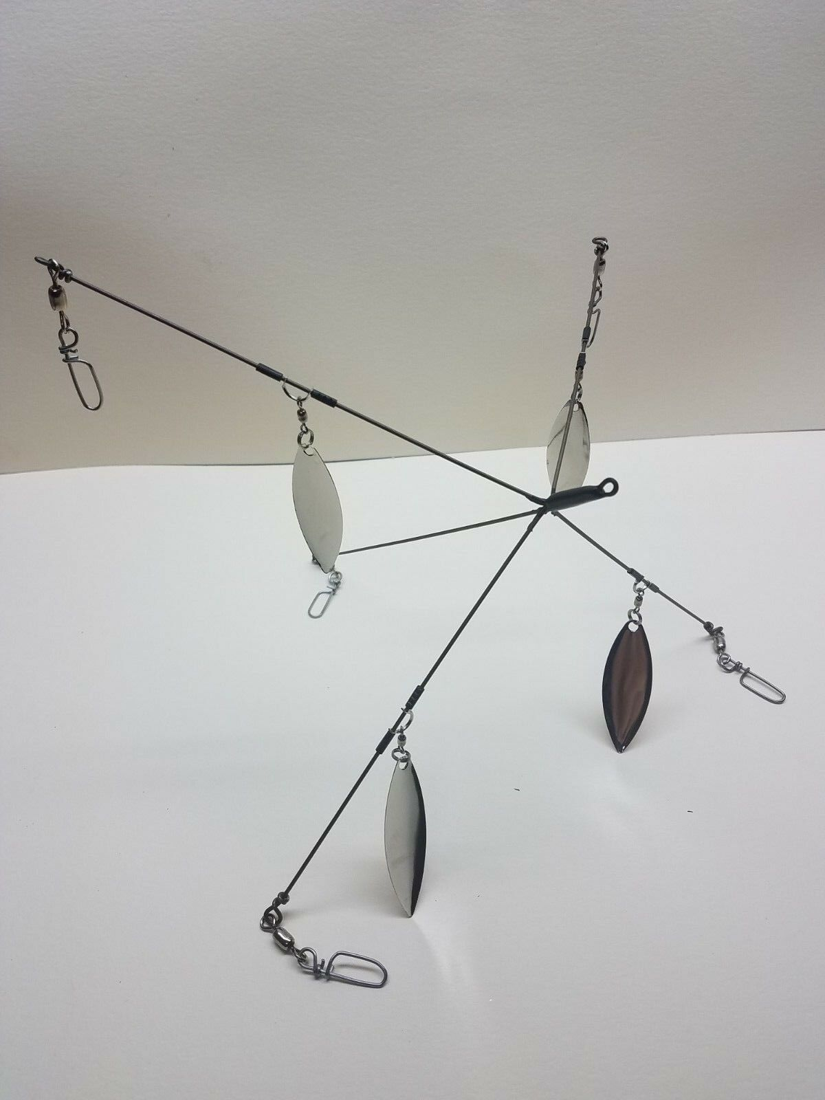 KC School'em 8-HDB-5CL Striper  Bass Umbrella Rig  5 Arm 4 Blade  fast delivery and free shipping on all orders