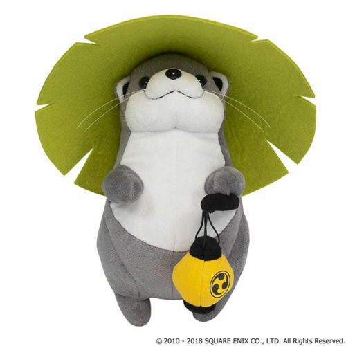 QUARE ENIX Final Fantasy 14 XIV Plush Odder Otter Usouso with Item code