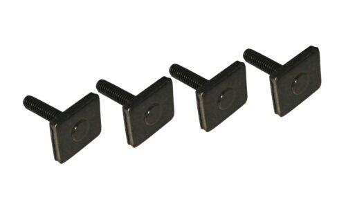 4 nutsteine m6x25mm portaequipajes relingträger T-Nut adaptador nutensteine VDP