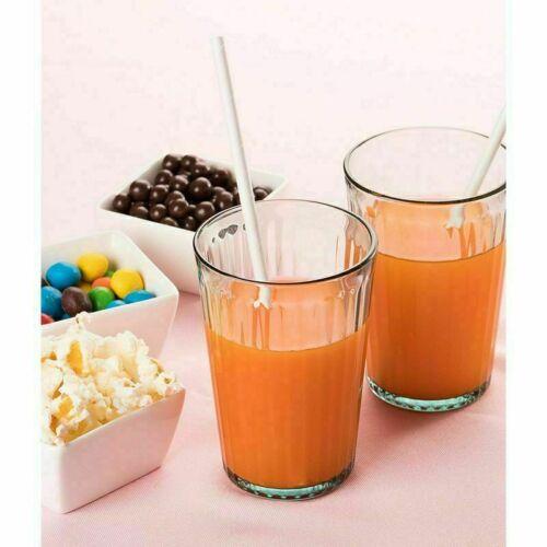 White 7.75 Inch BPA-Free Plastic Drinking Straws 800 Pcs Free Shipping