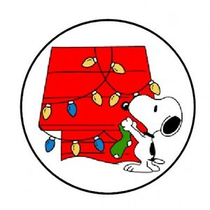 image is loading 48 snoopy christmas envelope seals labels stickers 1