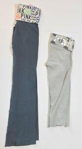 Woman-039-s-VICTORIA-039-S-SECRET-PINK-LOT-OF-2-Yoga-Pants-Bottoms-Junior-Size-XS