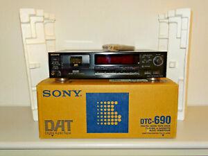 Sony DTC-690 DAT-Recorder Schwarz in OVP inkl. FB, 2 Jahre Garantie
