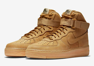 NIKE-AIR-FORCE-1-HIGH-FLAX-WHEAT-OUTDOOR-882096-200-SHIPS-NOW