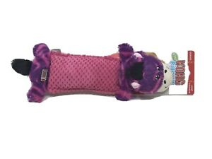 Kong-Critter-Pillow-Plush-Squeaky-Zebra-Dog-Toy-New-12-5
