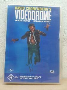 VIDEODROME-DVD-David-Cronenberg-1982-Movie-James-Woods-Deborah-Harry-REG-4