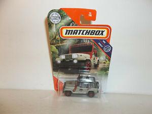 72//100 Matchbox Jeep Wrangler Rollbar 18#