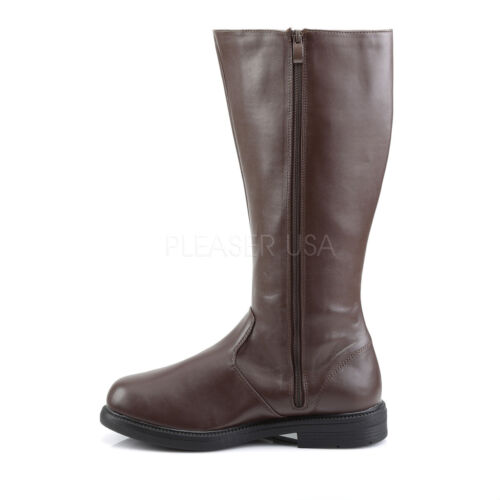 Herren Schwarz Game of Thrones Jon Snow Joffrey Cosplay Kostüm Stiefel Captain - 100