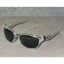 New Oakley Jupiter Sunglasses Clear/Grey Sonnenbrille Retro Lunettes de Soleil