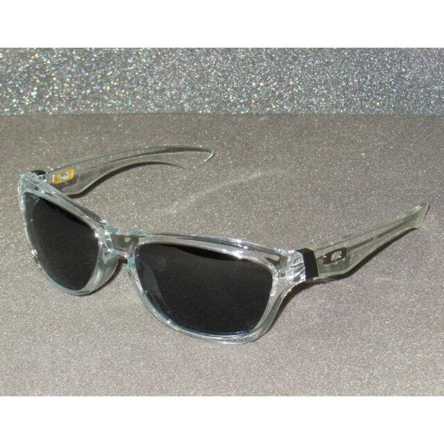 New  Oakley Jupiter Sunglasses Clear Grey Sonnenbrille Retro Lunettes de  Soleil 47e968d65313