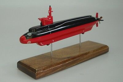 NR-1 Nuclear Research Navy Submarine Desktop Wood Model Small New | eBay