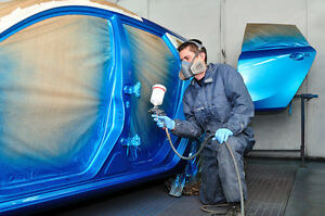 learn how to spray paint your car tutorial dvd step by step body work. Black Bedroom Furniture Sets. Home Design Ideas