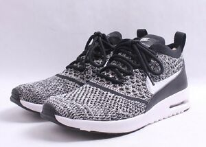 220ff9f8d1830 Nike W Air Max Thea Ultra Flyknit   881175 001 Black   White Women ...
