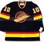 PAVEL-BURE-VANCOUVER-CANUCKS-1994-BLACK-SKATE-ADIDAS-TEAM-CLASSICS-NHL-JERSEY thumbnail 4