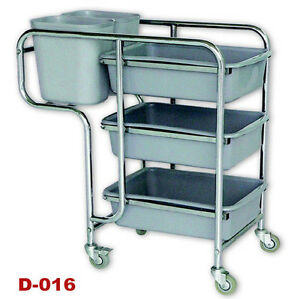 TCS Fully Assembled Commercial Kitchen Dining Collection Trolley ...
